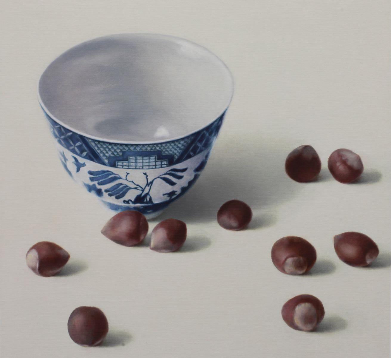 Hazelnuts 2   65 x 65 cm